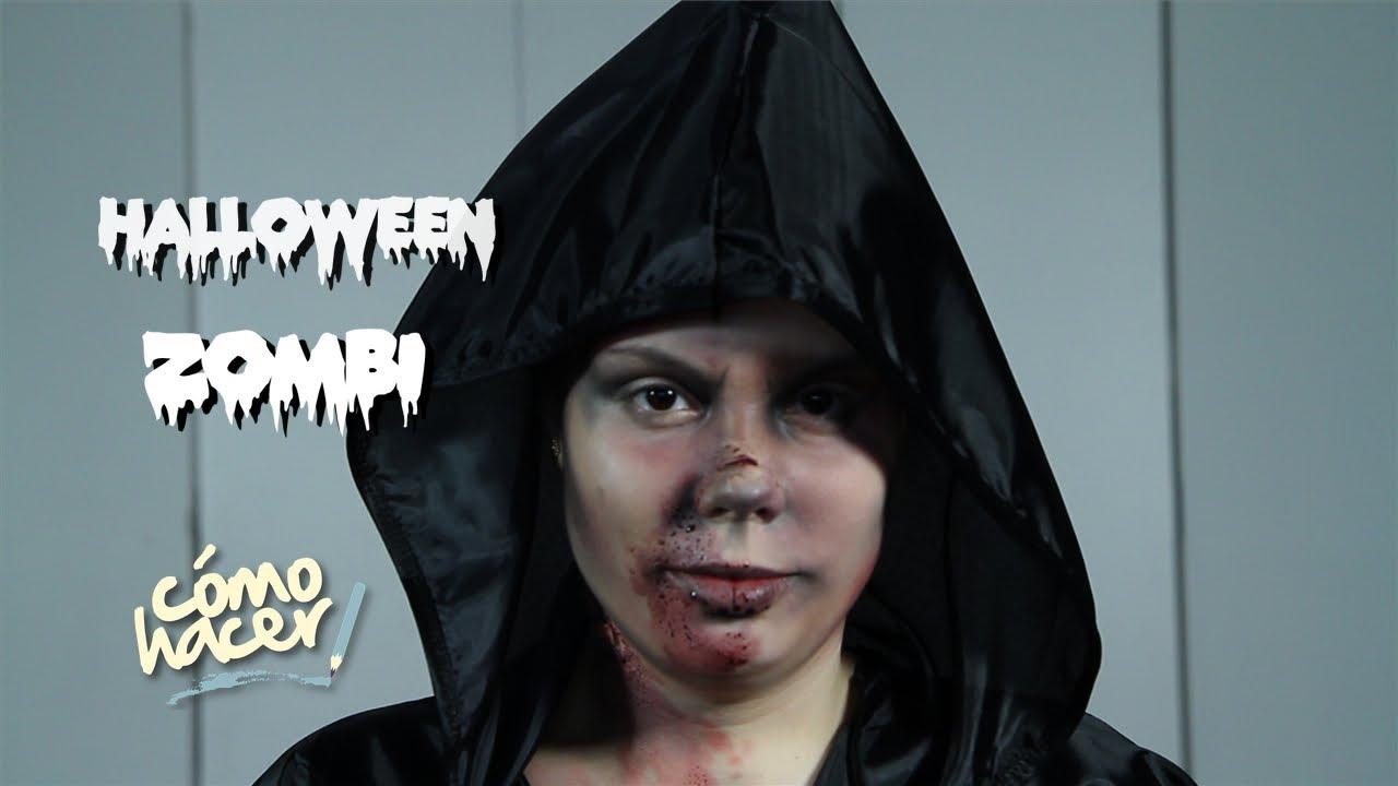Halloween: Como Hacer make up de Zombie / Como Hacer TV