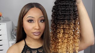 Affordable Kinky Curly Hair (Pre Ombred)  | Love Sidora | Jaz Jackson