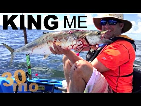 "Offshore Fishing for King Mackerel ""KING ME"" Corpus Christi Texas"