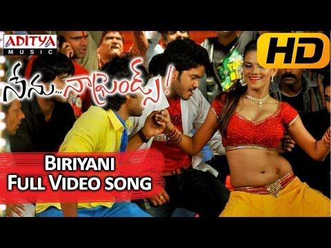 Biriyani Full Video Song - Nenu Naa Friends Video Songs - Sandeep, idhartha Varma, Anjana
