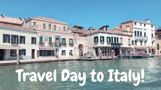 Traveling to Venice! | ITALY VLOG #1