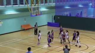 2015 九龍東區小學分會籃球比賽(女子組) 八強戰 林文燦 vs 協恩