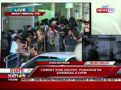 SONA: Update ni Ivan Mayrina mula sa Makati Medical Center