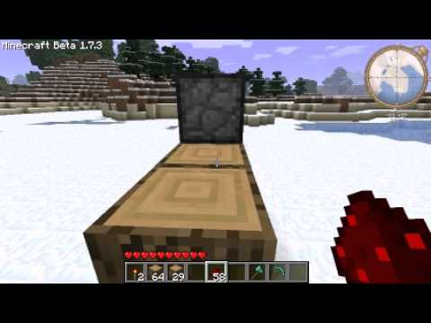 Minecraft Part 1 สอนวิธีทำประตูกล