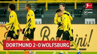 Dortmund vs Wolfsburg (2-0) | Bundesliga Highlights