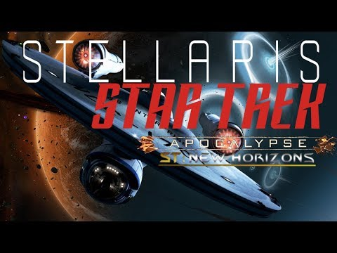 Star Trek New Horizons| A Stellaris Overhaul Mod Play-though: Federation #1 |
