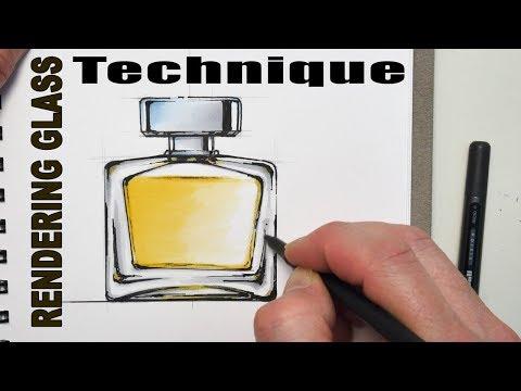 Tutorial: Glass Rendering Marker Technique