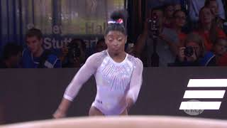 2019 Artistic Worlds, Stuttgart (GER) -  Simone BILES (USA), Vault All-around final