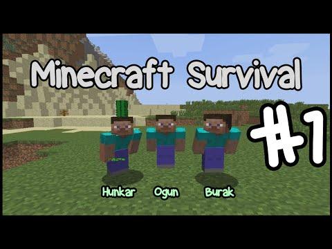 Minecraft Oynuyoruz; Bölüm 1