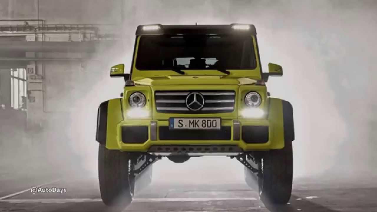 2015 mercedes benz g500 4x4 2 concept youtube for Mercedes benz g600