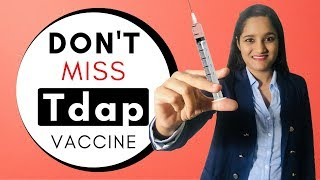 Tdap Vaccine | Don't Miss Tdap Vaccine in Pregnancy  | Vaccination in Pregnancy