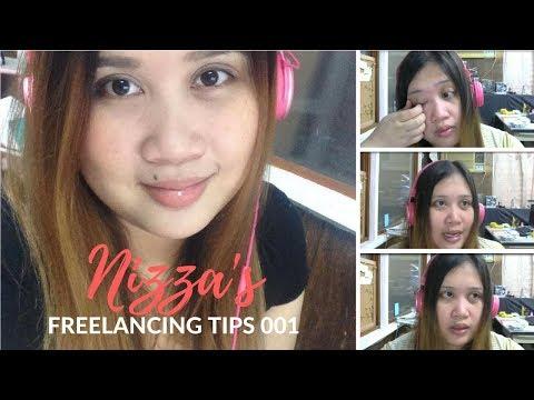 Freelancing Tips ni Nizza Video 01    ♥ Nizza Mataray ♥