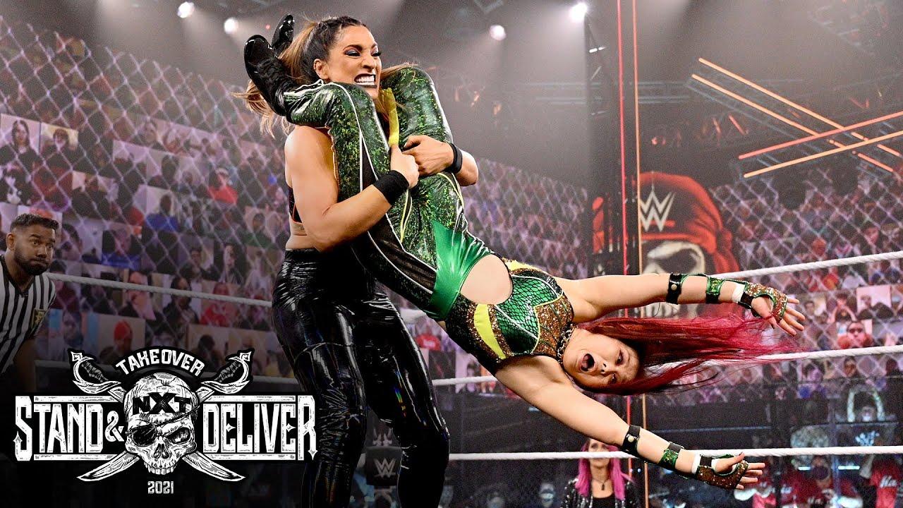 Download Io Shirai vs. Raquel González – NXT Women's Title: NXT TakeOver: Stand & Deliver, April 7, 2021