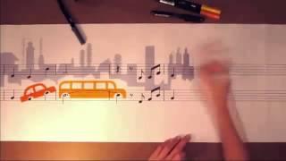 vẽ bằng nốt nhạc
