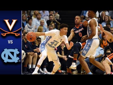 Virginia vs.North CarolinaMen's Basketball Highlights (2016-17)