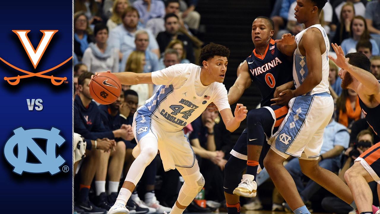 Virginia vs. North Carolina Men's Basketball Highlights ...