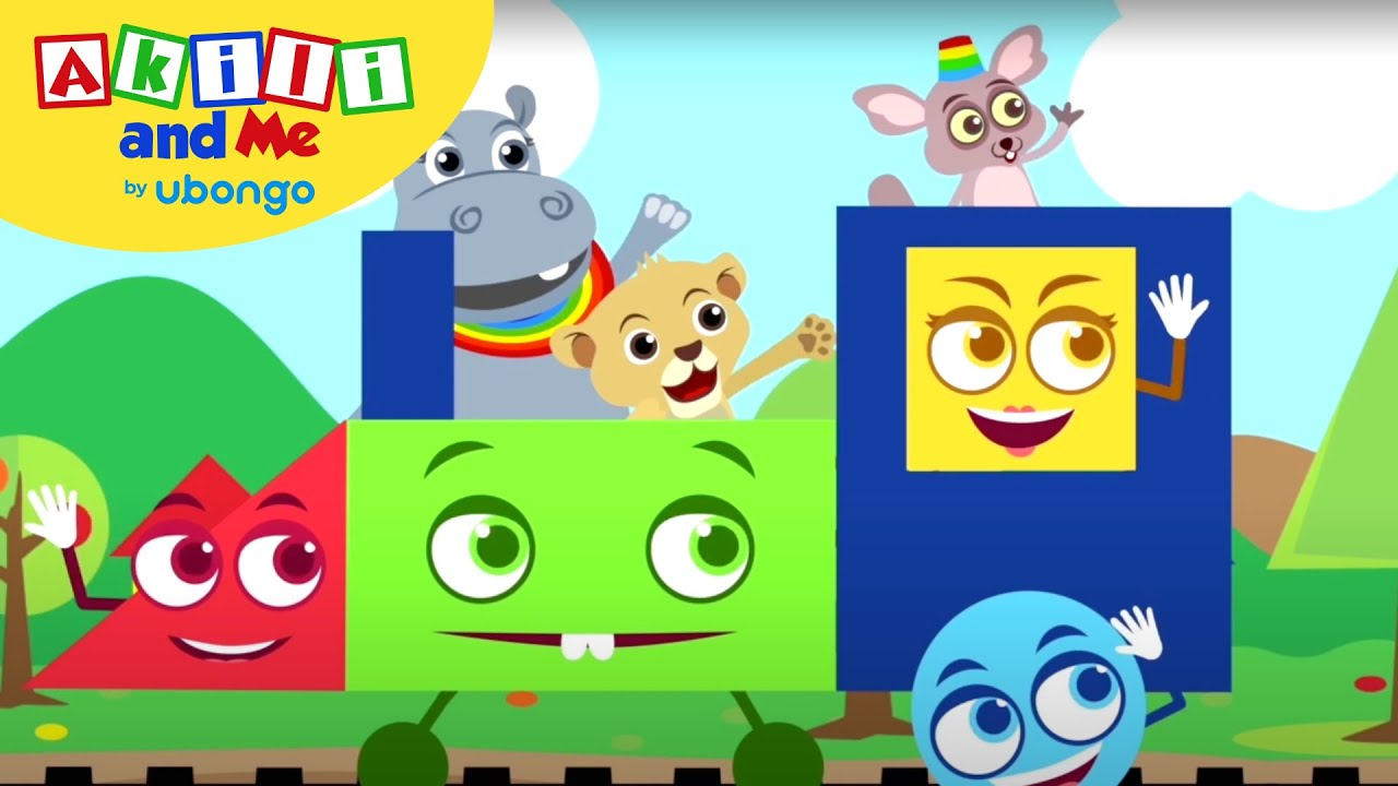Akili loves Shapes!   Compilations from Akili and Me   African Educational Cartoons