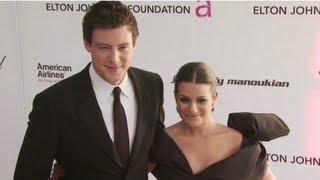 Cory Monteith Talks Loving Lea Michele . . . on Glee