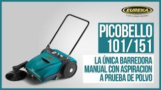 Eureka PICOBELLO - La Única Barredora Manual Aspirante