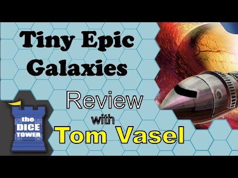 Tiny Epic Galaxies Review - With Tom Vasel