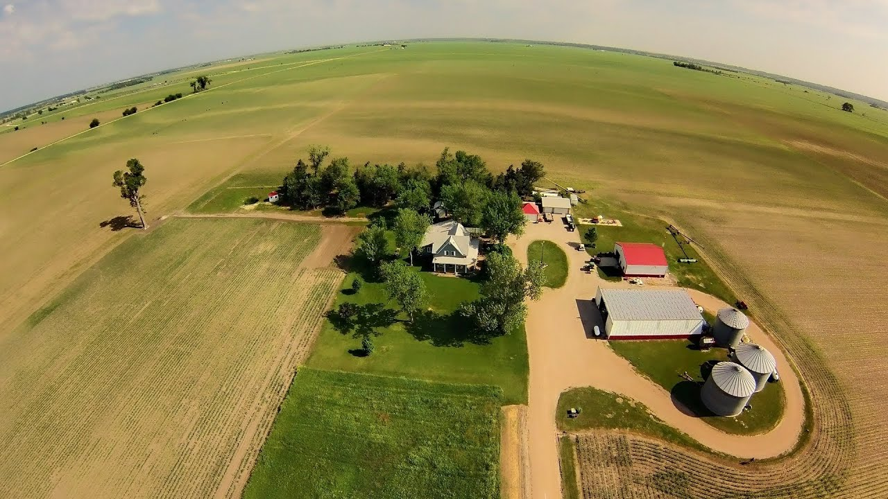 Parson Farm Aerial Tour Via Hexacopter