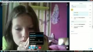 Samen met mijn vrienden Skype xd