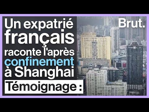 Un Français expatrié à Shanghai raconte l'après-quarantaine
