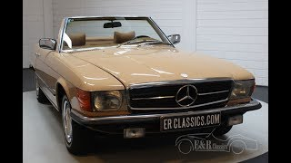 Mercedes-Benz 450SL Cabriolet 1979 Unique color combination -VIDEO- www.ERclassics.com