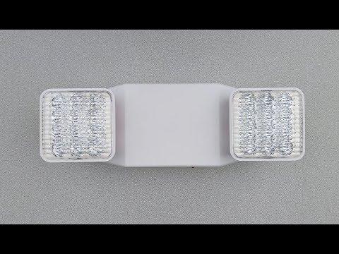 EL-2 LED Emergency Light - The Exit Light Company