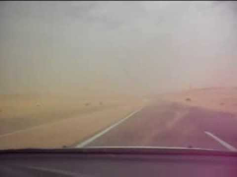 SAND STORM IN THE SOUTHERN ALGERIA 04/03/2014