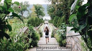 DEPRESSION UPDATE + SEPTEMBER TRAVEL VLOG