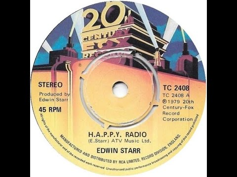 """HAPPY Radio"" by Edwin Starr"