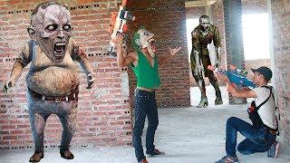 Superhero Action Female S.w.a.t Task Police Nerf Guns Zombie Bites Joker Monster