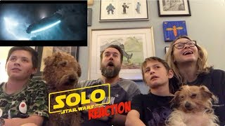 Solo : a star wars story Official trailer Reaction
