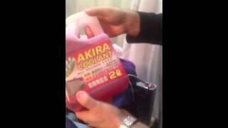 Тест антифриза Акира