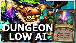 Hearthstone - Best of Dungeon Low AI Moments
