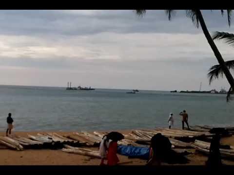 Vizhinjam International Sea Port Mulloor dredging area