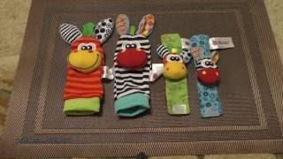 носки-погремушки и браслеты-погремушки Sozzy для ребёнка