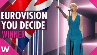 "SuRie wins Eurovision You Decide 2018 with ""Storm"" (REACTION)"