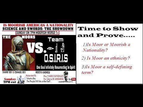 MWTv Debate Night!!! The Moors Vs. Team Osiris...IS MOORISH A NATIONALITY