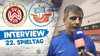 Interview nach dem 22. Spieltag