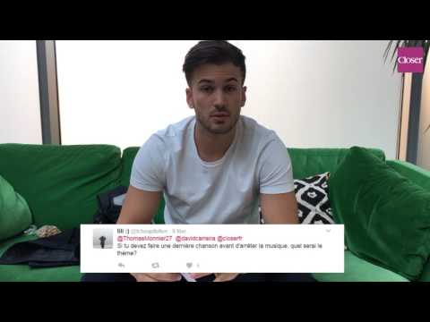 David Carreira répond aux tweets de ses fans [Interview Closer.fr]