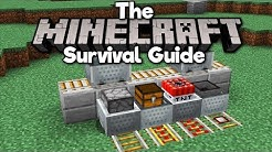 How To Use Minecarts And Rails! ▫ The Minecraft Survival Guide [Part 222]