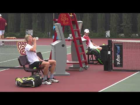 10 29 2017 Brandon Holt (USC) Vs Tanner Smith (USC) men's semi-finals match