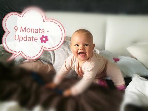 Babyupdate 9 Monate ❤️ bald läuft sie uns davon