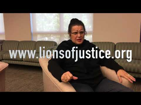 Jeanette Velez SGI-USA member Interview on the Lions of Justice movement in 2018.