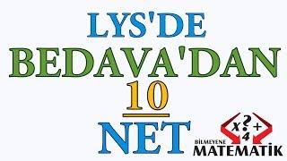 YKS - LYS de Bedavadan 10 Net Yapmak