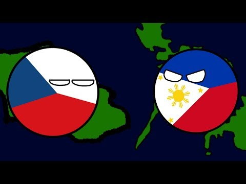 Philippines vs Czech Republic in a Nutshell [Mapper + Countr