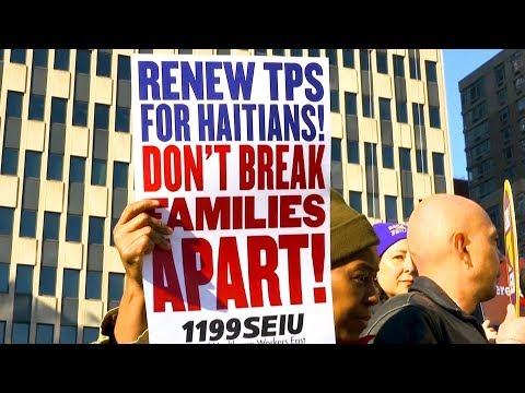 NAACP vs. Trump: Racial Discrimination Suit Filed to Block Deportations of Haitians with TPS
