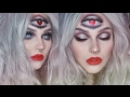 blinded by love//third heart eye makeup tutorial